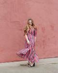 Be The Sunshine Multi Stripe Dress