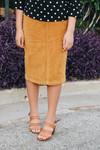 Aubrey Corduroy Skirt *Mustard*