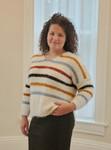 Autumn Splender Stripe Sweater