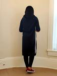 The Hoodie Dress *Black*