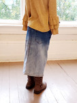 Faded Perfection Modest Denim Skirt *Girls*