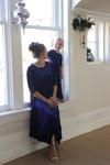 Willow Swing Dress Blue Velvet *Womens*