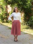 Andrea Ruffle Layering Shirt Ivory