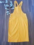 Lena Overall Jumper Dress Mustard *Womens*