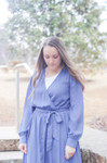 Reflections Flowy Maxi Dress *Blue*