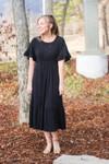 Off On An Adventure Knit Dress *Black*