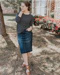 Emma Denim Skirt Dark Wash *Juniors*
