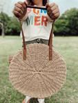 Round Woven Bag