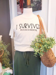 I Survived Social Quarantine Graphic Tee