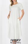 Summer Special T Shirt Dress *Ivory*