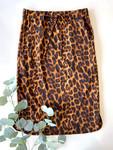 Weekend Vibes Drawstring Skirt *Animal Print*