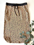 Weekend Vibes Drawstring Skirt *Pink Cheetah*