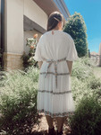 Daydreamer Embroidered Dress *White*