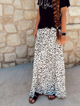 Dottie Pleated Maxi Skirt *White*