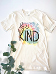 Be Kind Tie Dye Graphic Tee