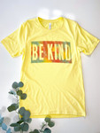 Be Kind Yellow Graphic Tee
