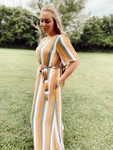 Summer Crush Stripe Maxi Dress