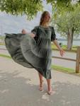 Harlow Tiered Twirl Dress *Sage*