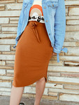 Amelia Drawstring Skirt *Toasted Almond*