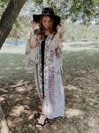 Catching Compliments Boho Maxi Length Kimono