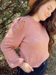 Puffed Sleeve Sweater *Mauve*