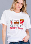 Chic Fil A Favorite Things Graphic Tee *White*