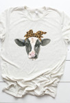 Farm Style Cow Graphic Tee