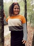 Colorblock Fall Stripe Sweater