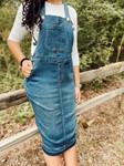 Savannah Overall Jumper Dress Vintage Wash
