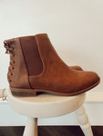 Laced Up Booties *Tan*