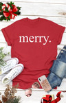 Merry Graphic Tee *Final Sale*