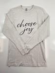 Choose Joy Long Sleeve Graphic Tee
