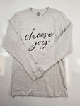 Choose Joy Long Sleeve Graphic Tee