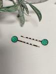 Antique Hair Pins Mermaid *Set of 2*
