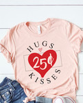 25Cent Hugs & Kisses Graphic Tee