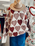 Heart To Heart Cozy Sweater