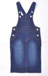 Savannah Overall Jumper Dress *Dark Wash* Kids