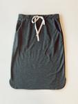 Drawstring Sport Skirt *Heather Charcoal*