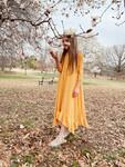 Willow Swing Dress Yellow/White Stripe *Girls*