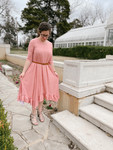 Willow Swing Dress Coral Dot *Womens*