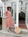 Willow Swing Dress Rose Pink Floral *Womens*