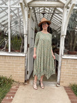 Willow Swing Dress Sage Green Floral *Womens*