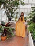 Enchanted Evening Dress *Mustard*