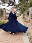 Enchanted Evening Dress *Navy*