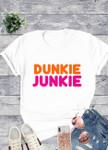 Dunkie Junkie Graphic Tee *White*