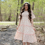 Someone Like You Smocked Tiered Dress