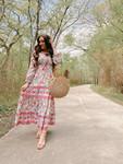 Boho Girl Floral Maxi Dress