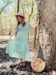 Dreaming of Beaches Smocked Dress