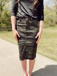 Emma Denim Skirt *Camo* Juniors