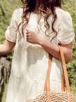 Vanessa Boho Dress *Cream*